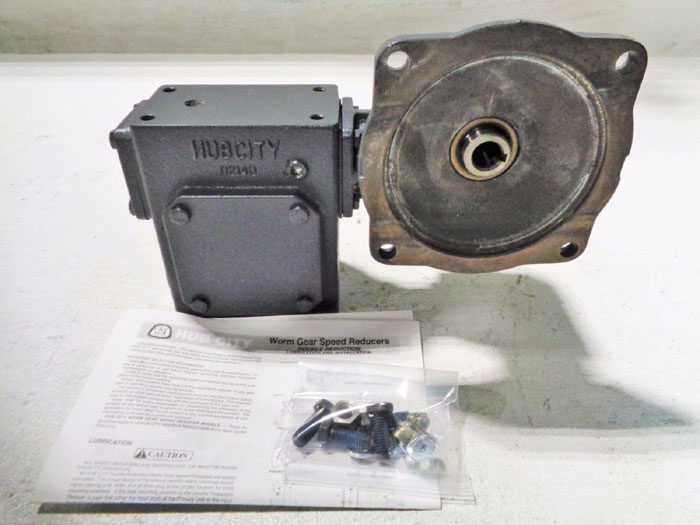 HUB CITY 2104 WORM GEAR SPEED REDUCER 0220-66955-2104