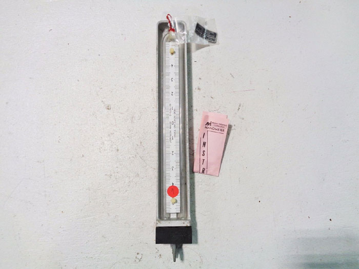 "MERIAM INSTRUMENT 10"" MANOMETERS U-TUBE 10AA25WM-10"""