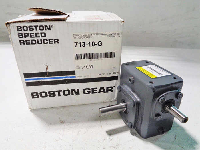 BOSTON GEAR SPEED REDUCER 713-10-G  ***NEW IN BOX***
