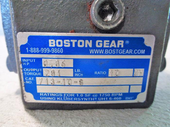 BOSTON GEAR SPEED REDUCER 713-10-G