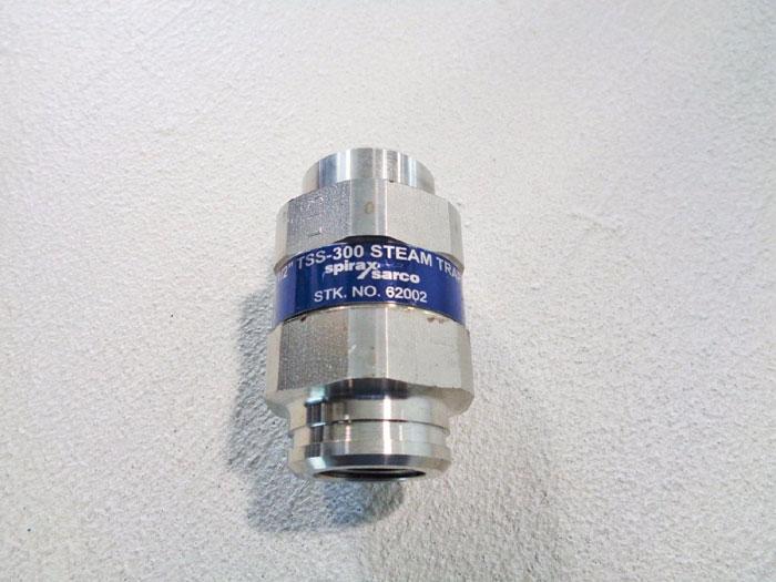 "SPIRAX SARCO 1/2"" THERMOSTATIC STEAM TRAP TSS-300, STOCK#: 62002"