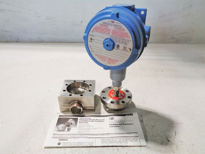 UNITED ELECTRIC J120-274 PRESSURE SWITCH