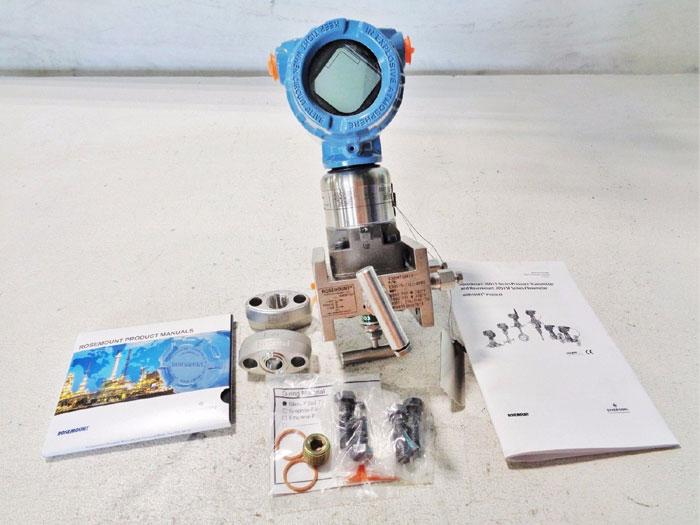 ROSEMOUNT 3051S PRESSURE TRANSMITTER 3051S2CD2A2A11A1AM5K5