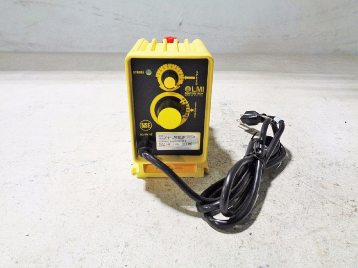 MILTON ROY ELECTROMAGNETIC DOSING PUMP P131-392SI