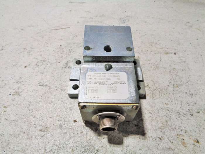 TOLEDO SCALE LOAD CELL B10671600A