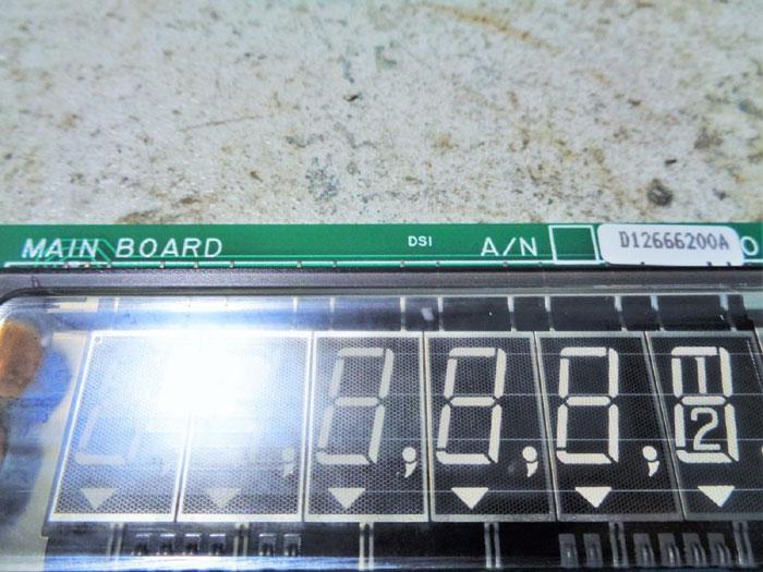 TOLEDO SCALE CORP MAIN BOARD D12666200A   B12562700A