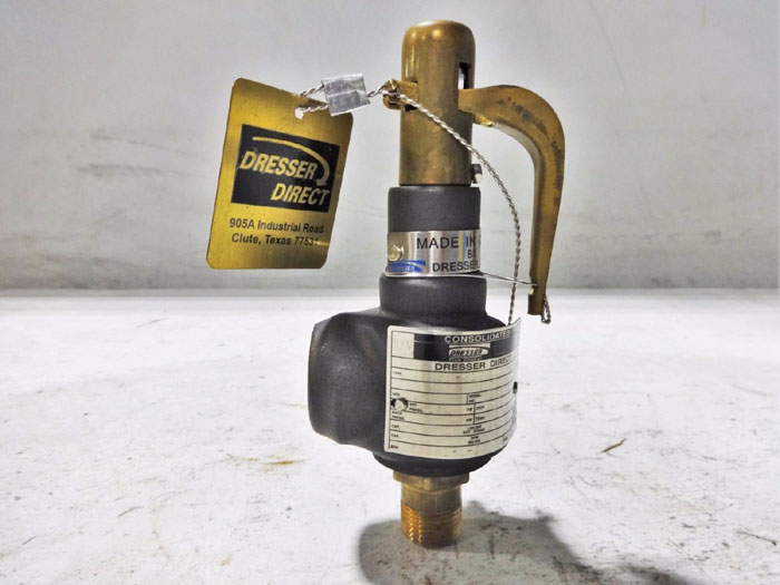 """DRESSER CONSOLIDATED 1/2"""" SAFETY RELIEF VALVE 1543D-21"""