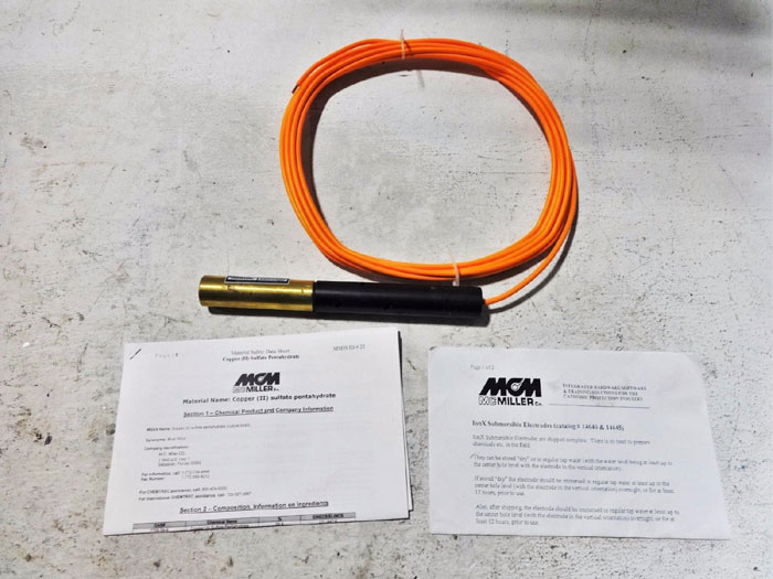 MCM MCMILLER IONX SUBMERSIBLE ELECTRODES 14645