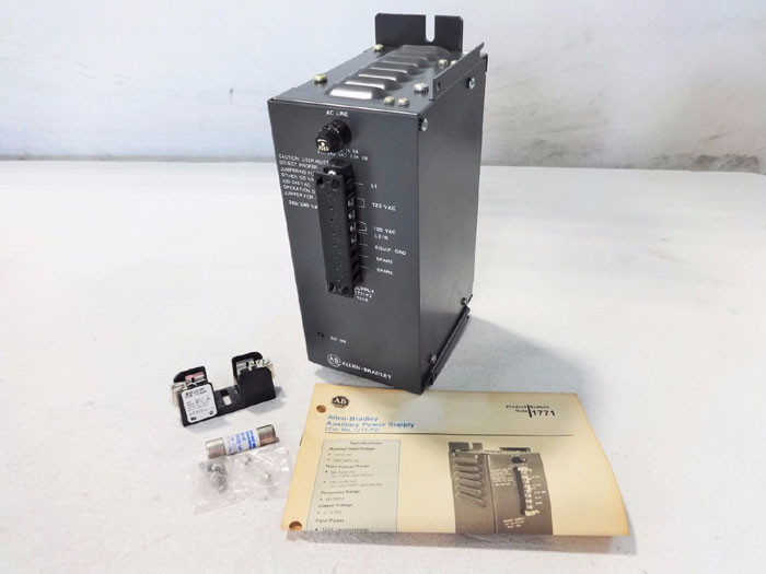 ALLEN-BRADLEY AUXILIARY POWER SUPPLY 1771-P2