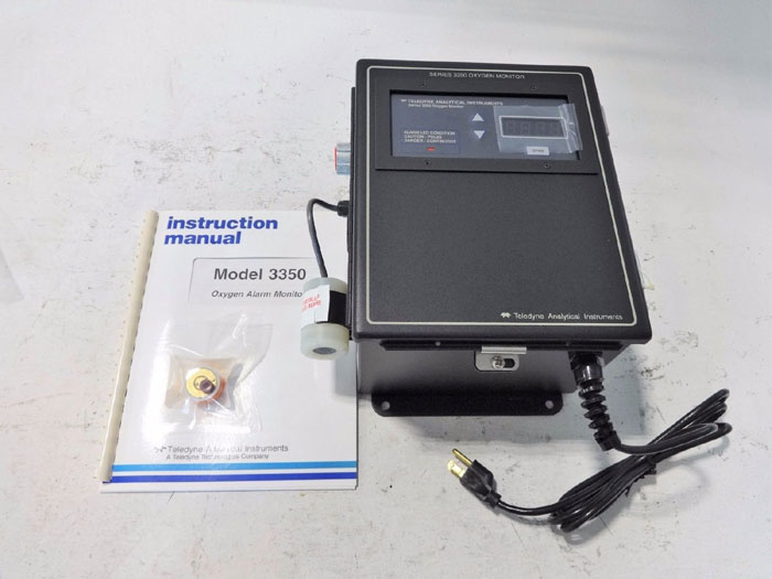 TELEDYNE ANALYTICAL INSTRUMENTS 3350 OXYGEN ALARM MONITOR D70682A