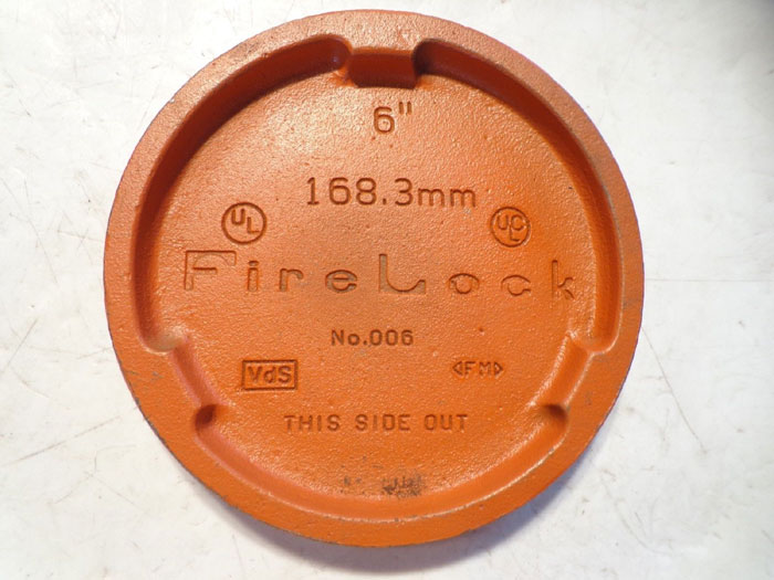 "FIRELOCK 6"" PIPE CAP"