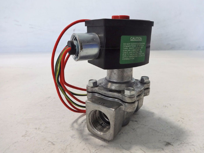 "ASCO RED HAT 2-WAY 3/4"" SOLENOID VALVE EF8215G033 / EF8202G5"