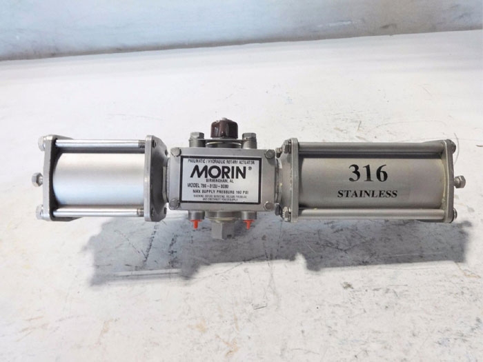 MORIN PNEUMATIC HYDRAULIC ROTARY ACTUATOR 79S-012U-SO80