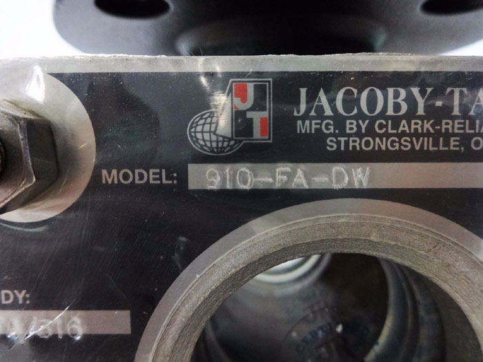 "JACOBY TARBOX 2"" 150# BULLS-EYE FLANGED PLAIN SIGHT FLOW INDICATOR 910-FA-DW"
