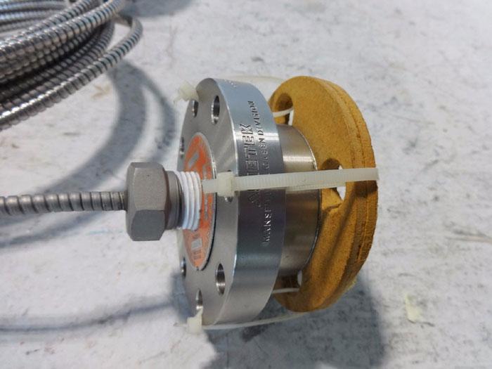 UNITED ELECTRIC PRESSURE SWITCH J120-191 WITH AMETEK DIAPHRAGM DC550