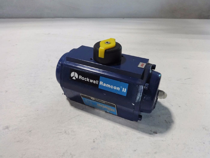 ROCKWELL RAMCON II PNEUMATIC ACTUATOR R40 EFS