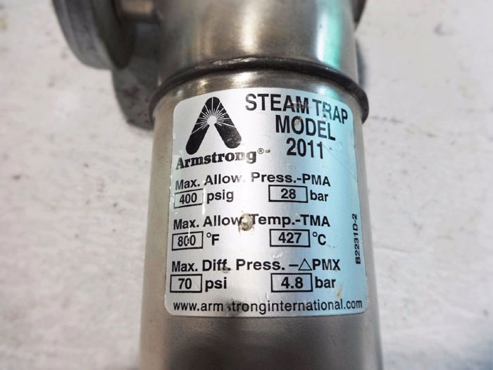 ARMSTRONG STEAM TRAP 2011