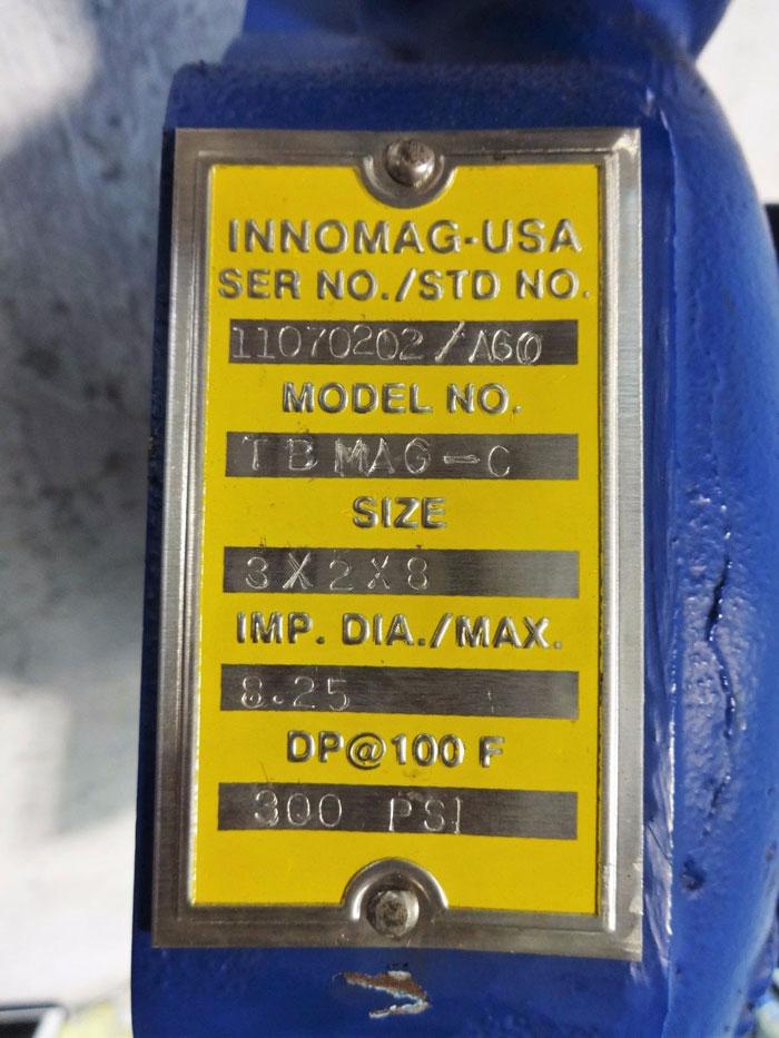 """INNOMAG 3"""" x 2"""" x 8"""" TBMAG-C PUMP CASING CSG-1050-C6"""