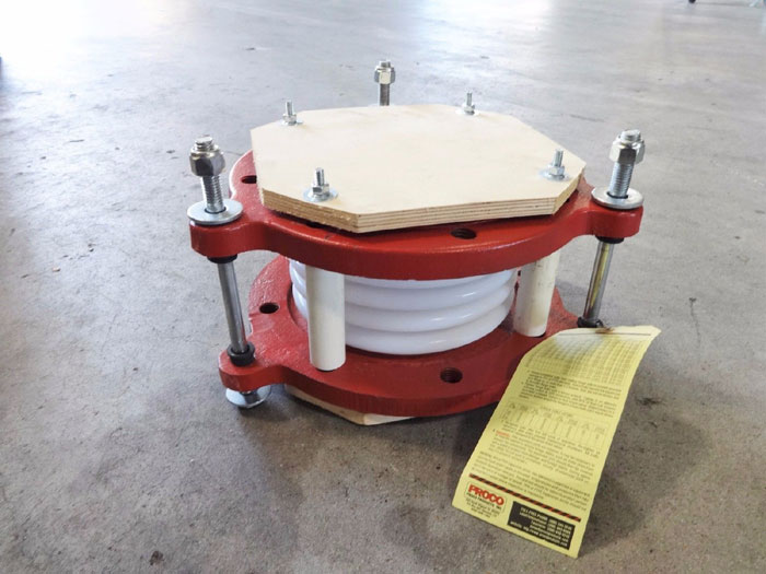 "PROCO PRODUCTS 6"" TEFLON EXPANSION JOINT 5-CONVOLUTE"