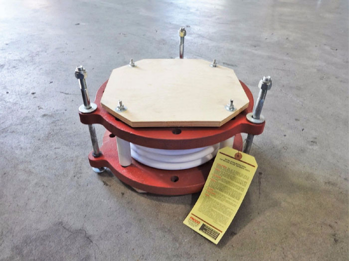 "PROCO PRODUCTS 8"" TEFLON EXPANSION JOINT 5 CONVOLUTE"