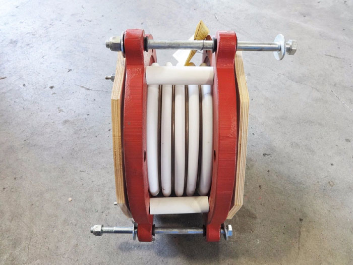 """PROCO PRODUCTS 8"""" TEFLON EXPANSION JOINT 5 CONVOLUTE"""