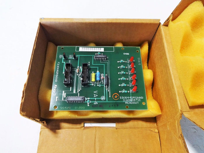 GE GENERAL ELECTRIC DIAGNOSTIC READOUT CIRCUIT BOARD 531X144DRGAAG1