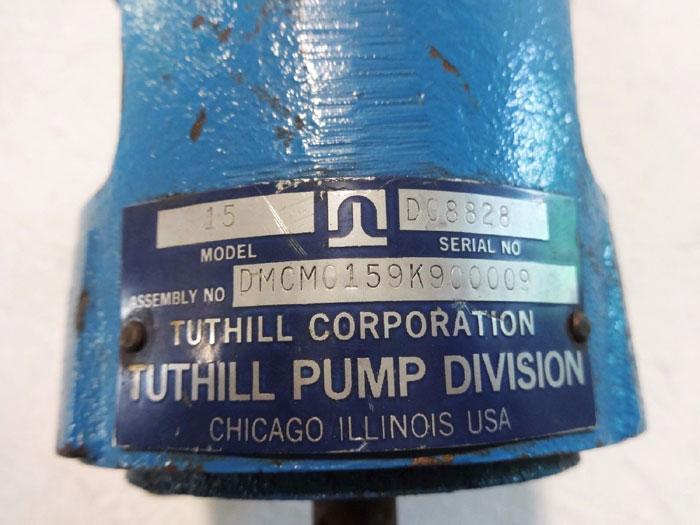 TUTHILL LOBE PUMP PART, MODEL 15, ASSEMBLY DMCM0159K900009