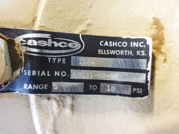 "CASHCO 2"" WCB PRESSURE REDUCING REGULATOR TYPE 1164"
