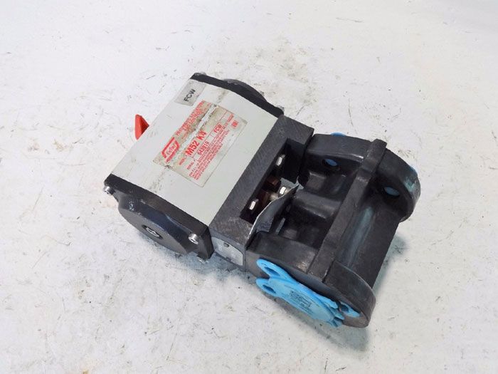 """DRESSER NIL-COR 1"""" ACTUATED BALL VALVE 1-500 ST.T.S WITH UNITORQ ACTUATOR M52 K4"""