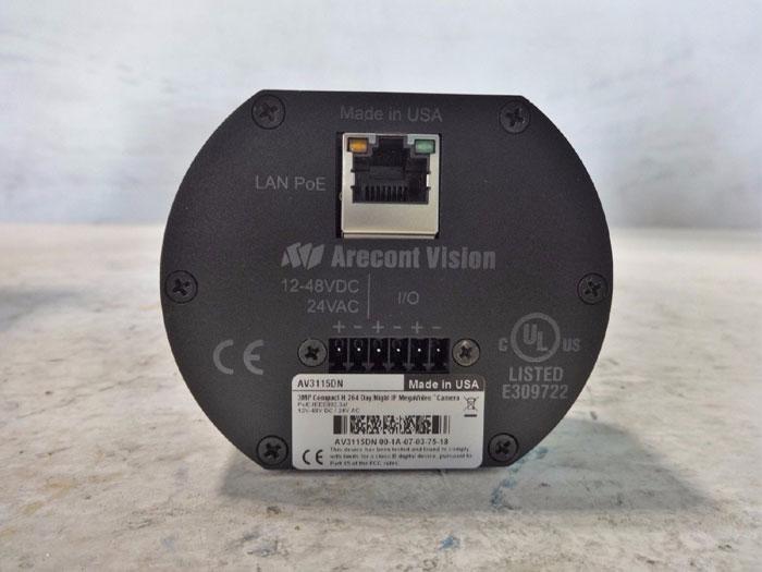 Arecont Vision 3MP Compact H.264 Day/Night IP Mega Video Camera AV3115DN