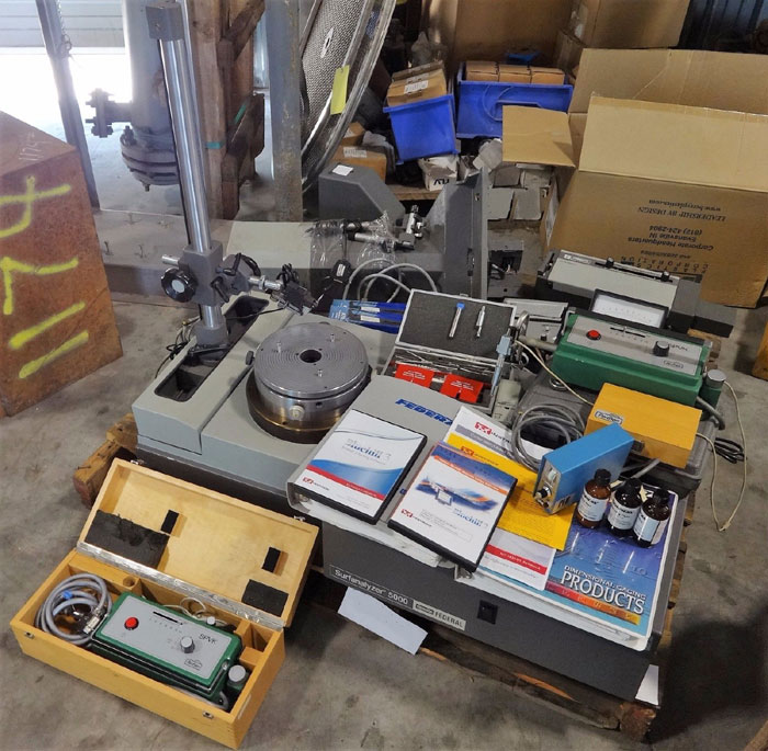LOT OF ESTERLINE FEDERAL FORMSCAN 3100, SURFANALYZER 5000, PERTHEN PERTHOMETERS