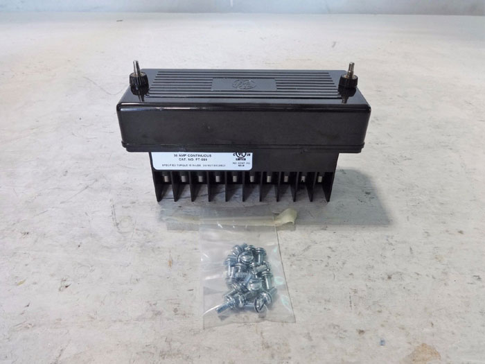 GE & INSTRUMENT TRANSFORMERS INC. FT TEST SWITCH FT-089 **LOT OF (3)**