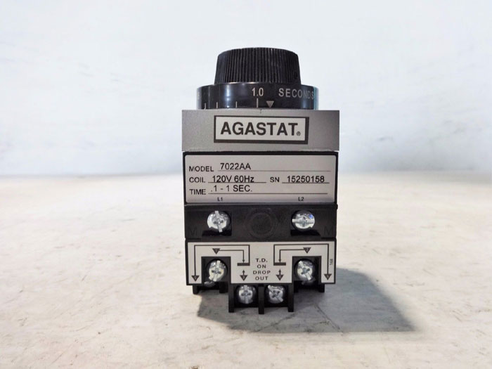 AGASTAT TIMING RELAY 7022AA