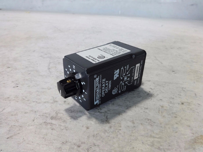 LOT OF (2) SIGNALINE OPERATE DELAY TIMER 330-H-10SEC