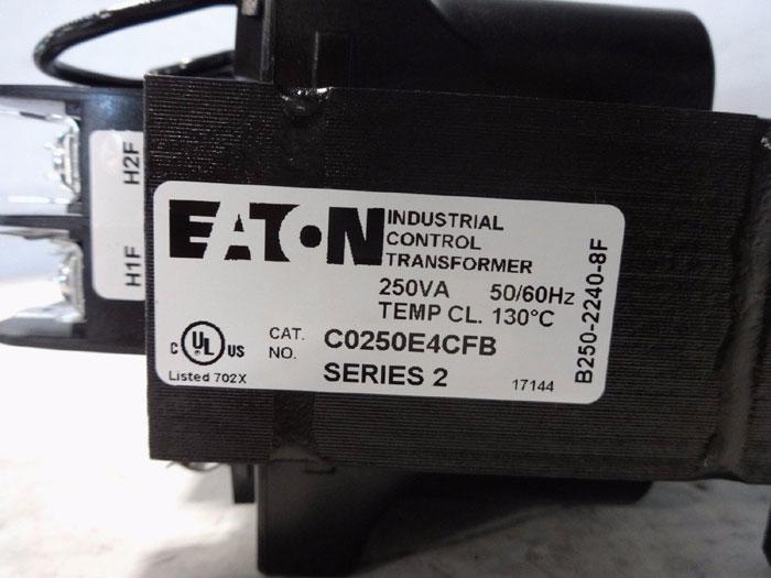 EATON INDUSTRIAL CONTROL TRANSFORMER C0250E4CFB