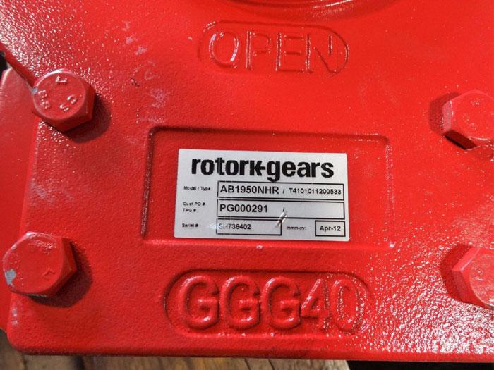 ROTORK QUARTER TURN MANUAL GEARBOX AB1950NHR