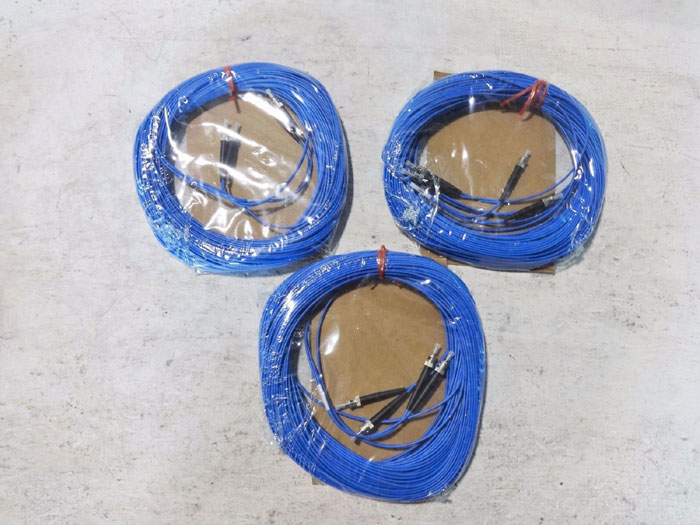 LOT OF (7) SEL FIBER OPTIC CABLES C805, C273AFZ - VARIED LENGTHS