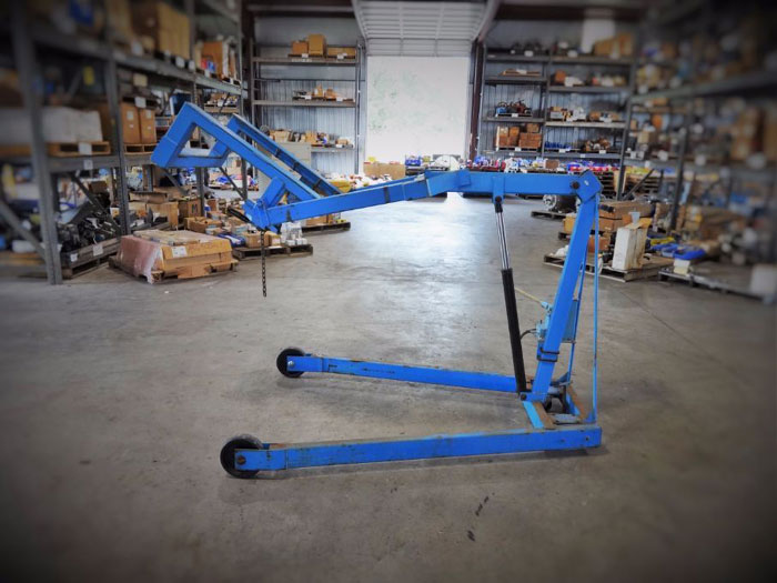 MORSE OMNI-LIFT KARRIER MODEL 405