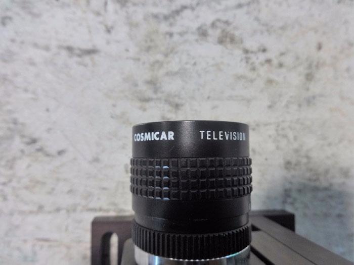 SONY RGB CCD VISION VIDEO CAMERA MODULE W/ COSMICAR TELEVISION LENS XC-711RR