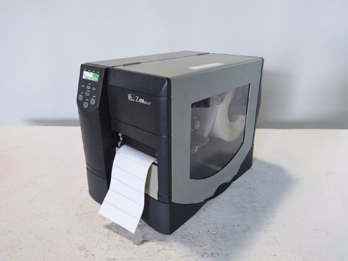 ZEBRA Z4MPLUS MONOCHROME DIRECT THERMAL TRANSFER LABEL PRINTER