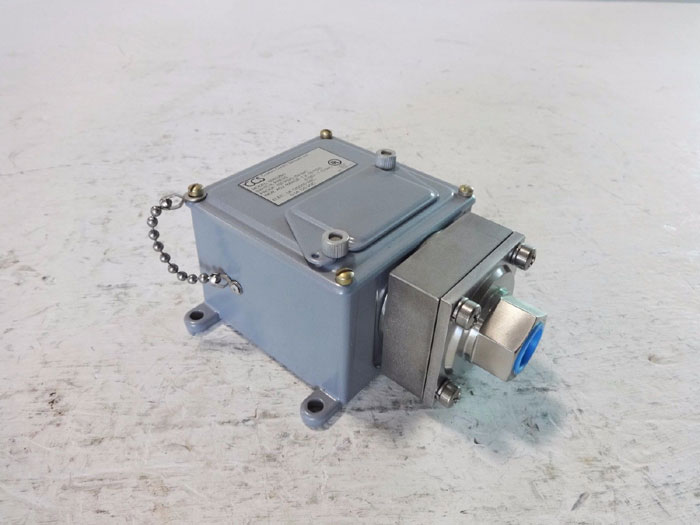 CCS Custom Control Sensors 750 PSIG Pressure Switch 604GZM1