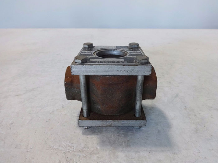 "JOHN C ERNST 3/4"" SIGHT FLOW INDICATOR W/ SIDE FLAPPER 062"