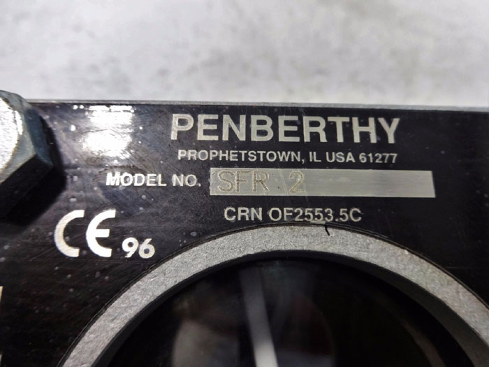 "PENBERTHY 2"" SIGHT FLOW INDICATOR W/ ROTATOR SFR 2"