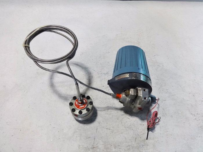 FOXBORO ELECTRONIC TRANSMITTER E11GM-ISAA1 W/ AMETEK DIAPHRAGM SEAL TYPE SB