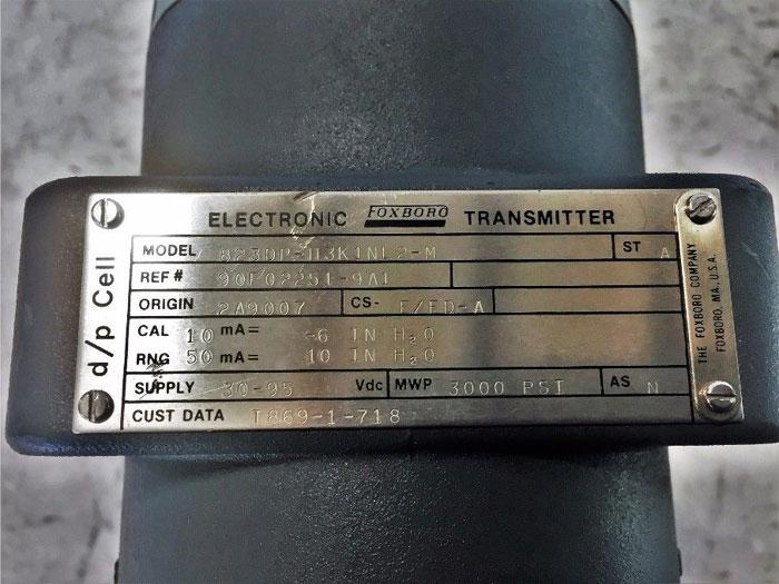 FOXBORO ELECTRONIC TRANSMITTER 823DP-H3K1NL2-M