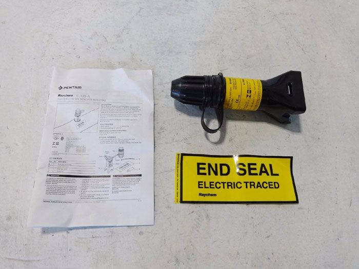 LOT OF (23) RAYCHEM HIGH PROFILE END SEAL E-100-A & E-100-E