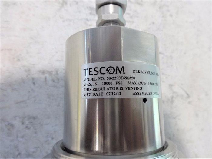 TESCOM PISTON SENSED PRESSURE REDUCING REGULATOR 50-2290-T69S350