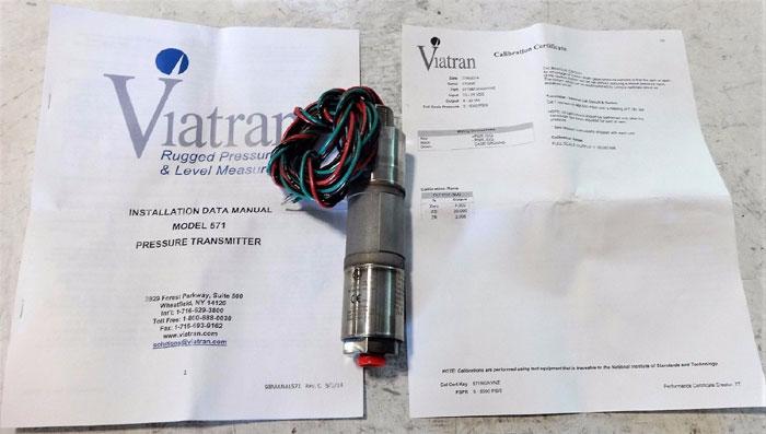 VIATRAN PRESSURE TRANSMITTER 5715BFSNGNYN2