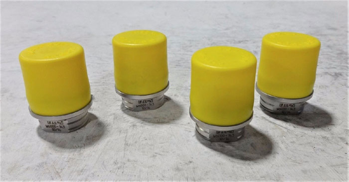"""LOT OF (4) EATON 1/4"""" W6000 QUICK DISCONNECT  PLUG COUPLINGS WV06214V0"""