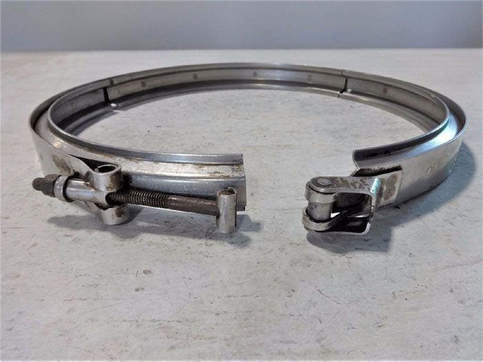 """LOT OF (3) VOSS 12"""" V-BAND CLAMPS 843204C-1380-S"""